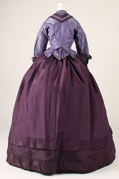 Dress  Date:late 1860sCulture:American (probably)