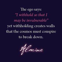 The logic of the ego.  www.spiritualjourneys.com