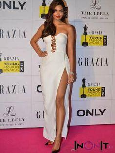 Esha Gupta at the Grazia Young Fashion Awards