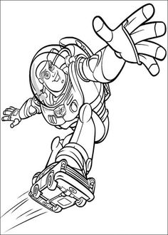 Flying Buzz Lightyear