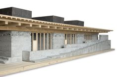 Maquette Architecture, Architecture Model Making, Museum Architecture, Landscape Architecture, Architecture Design, Architectural Section, Architectural Models, Arch Model, Tiny House
