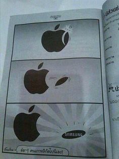 iClarified - Apple News - Where Samsung's Logo Really Came From [Humor]