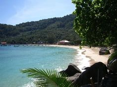 Pulau Tioman, Malaysia.  I WILL go here... one day.  Hopefully before it gets super expensive.