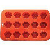 K9 Cakery Mini Paw Silicone Cake Pan, 9 by 5.5-Inch, 15-Cavity, http://www.amazon.com/dp/B006SOAPKC/ref=cm_sw_r_pi_awdm_Vsadwb1J4S8F5