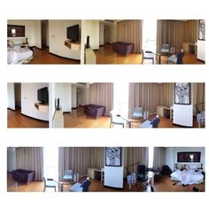 Our hotel room when weekend