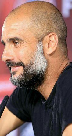 Pep Guardiola, Beautiful, Hot, Bald Hair