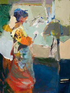 Linda Christensen » Painter in Landscape