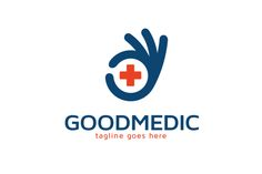 Good Medical Logo Template by gunaonedesign on Creative Market