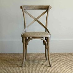 Reproduction Thonet chair designed in 1850 by Michael Tonet, the grandfather of bistro chairs