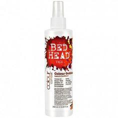 TIGI Bed Head Colour Combat Goddess Leave-in - Condicionador sem enxágue para cabelos coloridos, especialmente para os tons de marrom, castanho e vermelho.Nutre e hidrata enquanto aumenta a durabilidade e previne o desbotamento da cor.