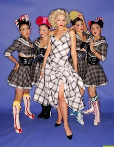Gwen Stefani & the Harajuku girls