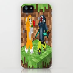 Iballisticsquid and stampy art iPhone & iPod Case by customgift - $35.00