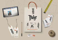 Diseño de Imagen corporativa tienda Mandragora. Diseño de vestuario. Valdivia