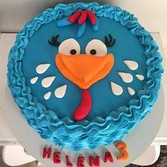 bolo da galinha pintadinha em chantilly - Pesquisa Google