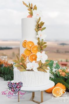 Dried Oranges, Moth Orchid Wedding Cake Orchid Wedding Cake, Wedding Cakes, Moth Orchid, Dried Oranges, Rustic Elegance, Elegant Wedding, Big Day, Orchids, Table Decorations