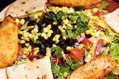 Chili's Quesadilla Explosion Salad copycat recipe