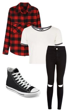 Stiles stilinski inspired outfit by lexi-tolhurst on Polyvore featuring polyvore, fashion, style, Topshop and Converse