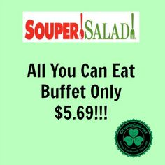 Forgot your lunch? No worries.... Get your Souper Salad coupon here---> http://www.coupondad.net/souper-salad-coupons