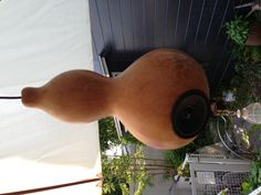 Organic ultimate speaker. The Hyoutan (Gourd) speaker. It is a very comfortable natural sound.