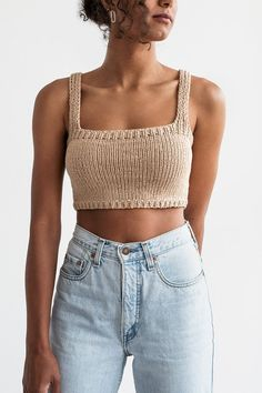 Crochet Clothes, Diy Clothes, Clothes For Women, Mode Outfits, Fashion Outfits, Fashion Fashion, Trendy Fashion, Casual Outfits, Crop Top Designs