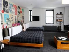 Ace Hotel, A space that feels exactly like your room at home in your cool LA loft