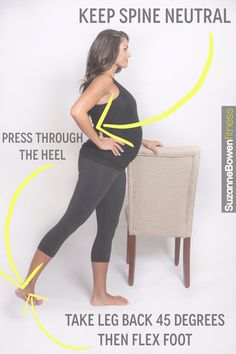 Classic Lower Body Barre Prenatal Workout