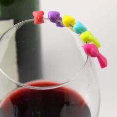 Bird - Wine Glass Markers