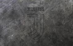 Download wallpapers Juventus, new logo, metal texture, new emblem Juventus, Turin, Italy, football, Serie A