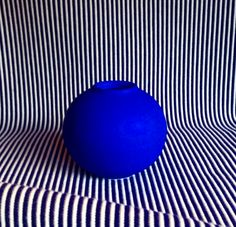 The Blue Dot Vase by The Granite