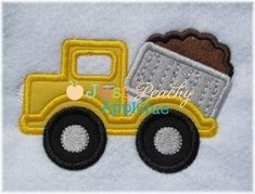 Dump Truck Dumptruck Machine Embroidery Design Perfect for Hooded Towels Plus 1 Free Design Your Choice Buy 1, Get 1  4 for 4! on Etsy, $4.00
