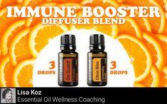 Immune Booster Diffuser Blend - Essential Oils