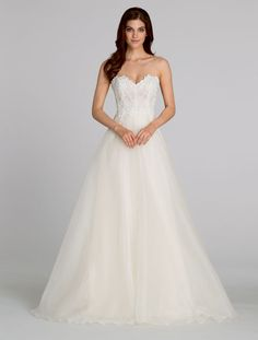Bridal Gowns, Wedding Dresses by Tara Keely - Style tk2554