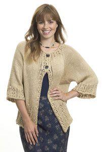 Free Knitting Pattern - Women's Jackets & Outerwear: Toggle Jacket