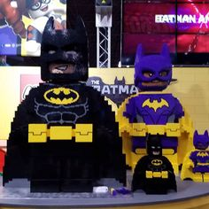 Lego #Batman and #Batgirl #NYCC #BNSNYCC