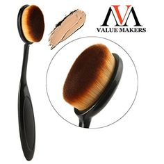 1pcs Oval Foundation Brush Toothbrush Makeup Brush Toothbrush Curve Liquid Foundation Blending Brush -- You can get more details by clicking on the image. (This is an affiliate link and I receive a commission for the sales)