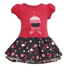 Love these Bonnie Jean cupcake dresses.