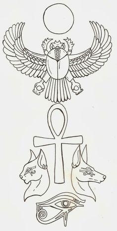 Curi Tattoo: Diseños de tatuajes: Egipcios