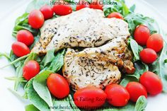 Sunday Dinner Ideas - Herb-Rubbed Chicken