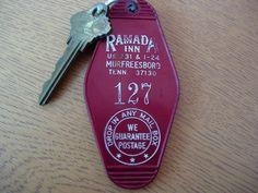 Ramada Inn Murfreesboro TN Hotel key and fob