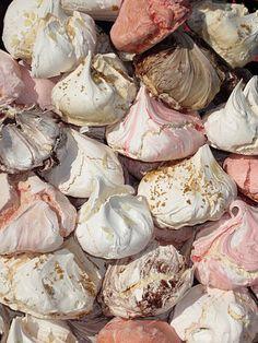 meringues - love love love & very few calories :-)