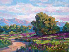California Hills - Plein Air by David Lloyd Glover - California ...