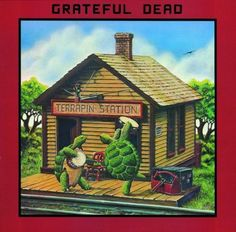 Image detail for -... Album Cover, Grateful Dead Terrapin Station CD Cover, Grateful Dead