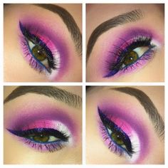 Valentine's Colors by Sisalee N. Click the pick to see what products she used. #makeup #beauty #valentinesday