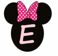 Abc Rosa en Cabezas de Minnie. Minnie Heads Pink Abc. Minnie Mouse Birthday Decorations, Minnie Mouse Theme, Mickey Mouse Birthday, Dinosaur Birthday, Diy 1st Birthday Decorations, Happy Birthday Banners, Lucky Wallpaper, Miki Mouse, Minnie Mouse Images