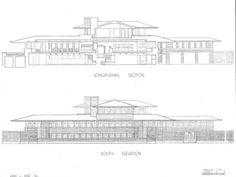 Robie House profile.