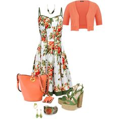 Summer camo 402 by adgubbe on Polyvore featuring polyvore, fashion, style, Joe Browns, maurices, Paloma Barceló, Valentino, Monique Péan, Jyoti, Kenneth Cole and Sweet Romance