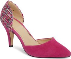 27ae138e98f Athena Alexander Groton D Orsay Pump in Pink