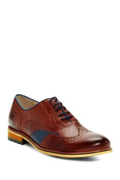 Wing Tip Oxford by Encore By Fiesso on @HauteLook