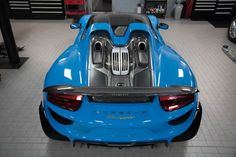 Porsche 918 Spyder delivery at Porsche of Tampa