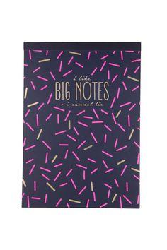 big notes